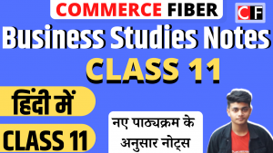 Read more about the article Class 11 Business Studies Notes in Hindi (हिंदी में सभी Chapters]