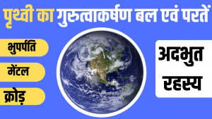 Read more about the article पृथ्वी की परतें | Layers Of Earth in Hindi