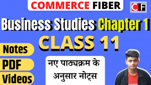 Read more about the article Class 11 Business Studies Chapter 1 Notes in Hindi