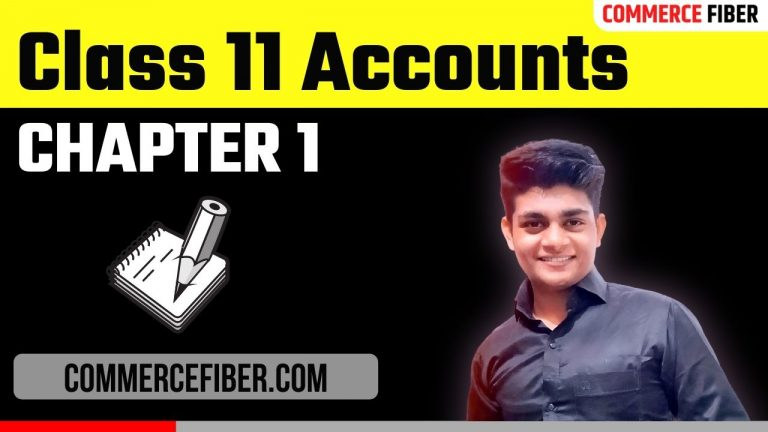 class 11 accounts chapter 1 notes in hindi